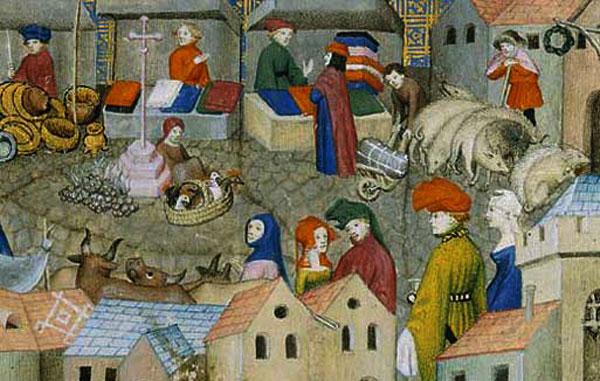 miniature (foire médiévale)