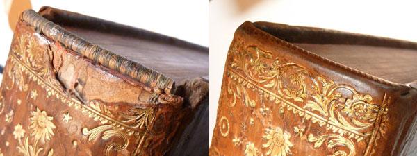 Coiffe restaurée par Anne-Elisabeth Gillot, Atelier Théus