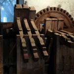 pile à maillet du moulin Pen-Mur à Muzillac