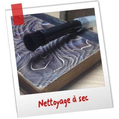 nettoyage-a-sec-livre-papier